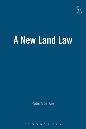 A New Land Law (Paperback)