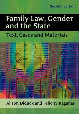 Family Law, Gender and the State (Paperback)