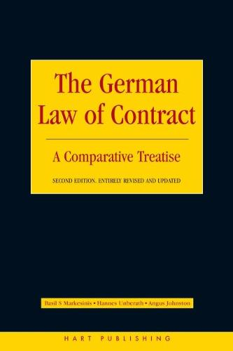 The German Law of Contract: A Comparative Treatise (Paperback)