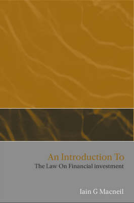 An Introduction to the Law on Financial Investment (Paperback)