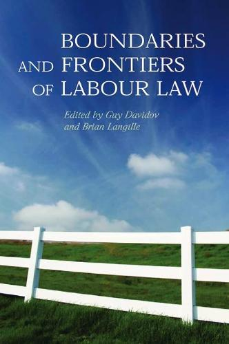 Boundaries and Frontiers of Labour Law: Goals and Means in the Regulation of Work (Hardback)