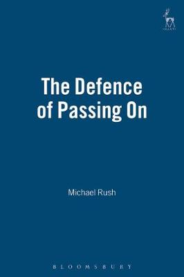 The Defence of Passing on (Hardback)