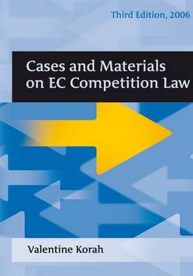 Cases and Materials on EC Competition Law (Paperback)