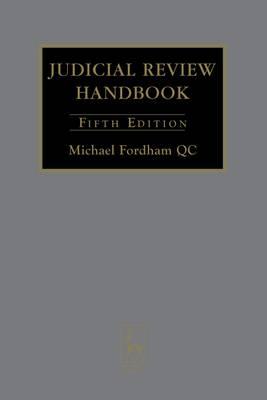 Judicial Review Handbook 2008 (Hardback)