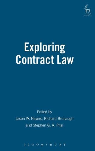 Exploring Contract Law (Hardback)