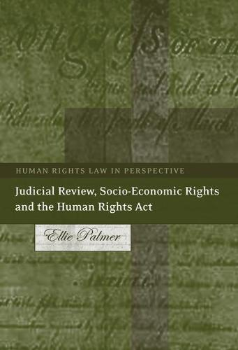Judicial Review, Socio-economic Rights and the Human Rights Act - Human Rights Law in Perspective 10 (Paperback)