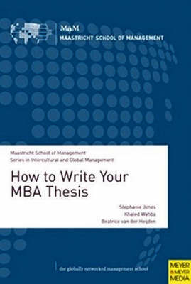 How to Write Your MBA Thesis (Paperback)
