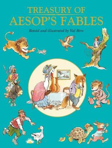 Treasury of Aesop's Fables (Hardback)