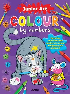 Cat: Colour By Numbers - Junior Art (Paperback)