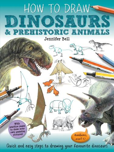 How To Draw: Prehistoric Dinosaurs - How To Draw (Paperback)
