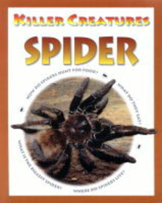 KILLER CREATURES SPIDER (Paperback)