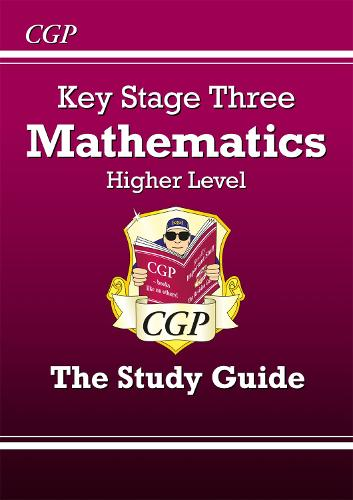 KS3 Maths Study Guide - Higher (Paperback)