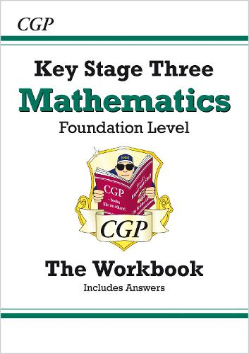 KS3 Maths Workbook (with Answers) - Foundation (Paperback)