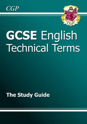GCSE English Technical Terms Study Guide (Paperback)