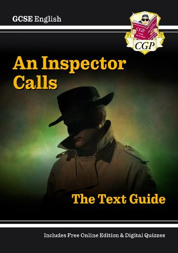 gcse english text guide an inspector calls by cgp books gcse english text guide an inspector calls paperback
