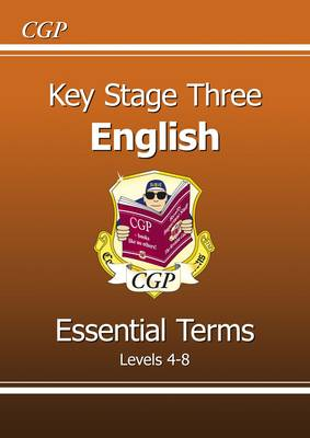KS3 English Essential Terms - Levels 4-8 (Paperback)