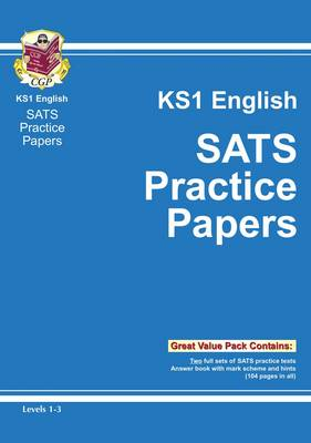 KS1 English SATs Practice Papers - Levels 1-3 (Paperback)