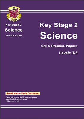 KS2 Science SATs Practice Papers - Levels 3-5 (Paperback)