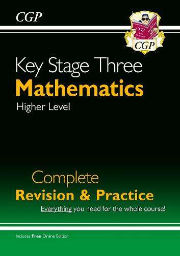 KS3 Maths Complete Revision & Practice - Higher (with Online Edition) (Paperback)