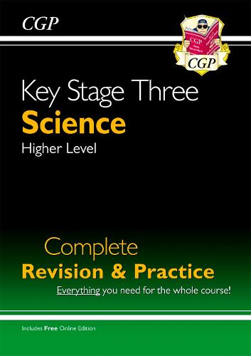 New KS3 Science Complete Study & Practice - Higher (with Online Edition) (Paperback)