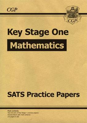 KS1 Maths SATS Practice Papers (for the New Curriculum) (Paperback)