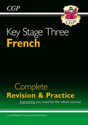 KS3 French Complete Revision and Practice with Audio CD (Paperback)