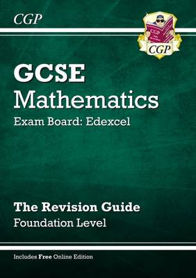 GCSE Maths Edexcel Revision Guide (with Online Edition) - Foundation (Paperback)