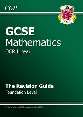 GCSE Maths OCR Revision Guide (with Online Edition) - Foundation (Paperback)