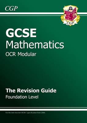 GCSE Maths OCR a (Modular) Revision Guide - Foundation (Paperback)