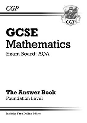 GCSE Maths AQA Answers for Workbook with Online Edition - Foundation (A*-G Resits) (Paperback)