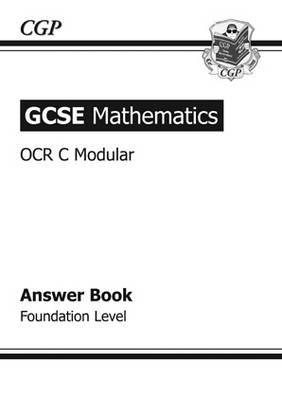 GCSE Maths OCR Modular Answers (for Workbook) - Foundation (Paperback)