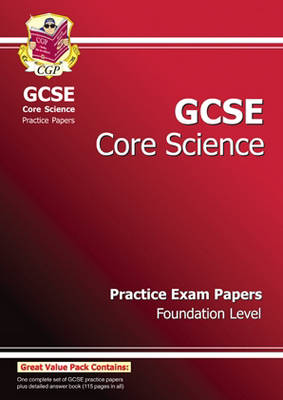 GCSE Core Science Practice Papers - Foundation (Paperback)