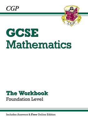 GCSE Maths Workbook with Answers and Online Edition - Foundation (A*-G Resits) (Paperback)
