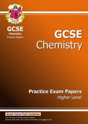 GCSE Chemistry Practice Exam Papers - Higher (A*-G Course) (Paperback)