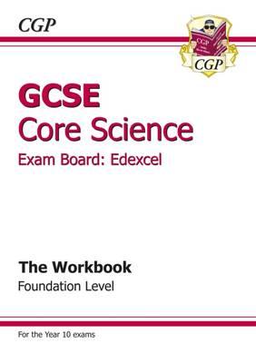GCSE Core Science Edexcel Workbook - Foundation (Paperback)
