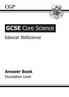 GCSE Core Science Edexcel Answers (for Workbook) - Foundation (A*-G Course) (Paperback)