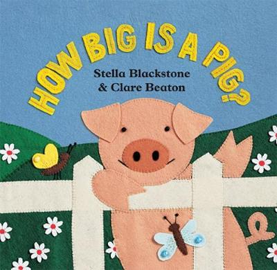 How Big is a Pig (Board book)