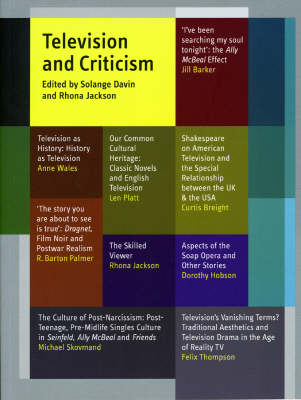 Television and Criticism (Paperback)