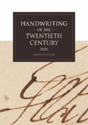 Handwriting of the Twentieth Century (Paperback)