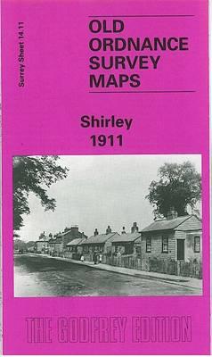 Shirley 1911: Surrey Sheet 14.11 - Old Ordnance Survey Maps of Surrey (Sheet map, folded)