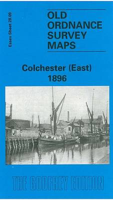 Colchester (East) 1896: Essex Sheet 28.09 - Old O.S. Maps of Essex (Sheet map, folded)