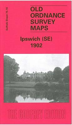 Ipswich (South East) 1902: Suffolk Sheet 75.16 - Old O.S. Maps of Suffolk (Sheet map, folded)