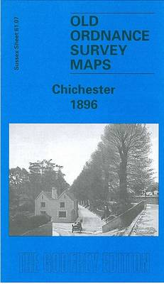 Chichester 1896: Sussex Sheet 61.07 - Old Ordnance Survey Maps of Sussex (Sheet map, folded)