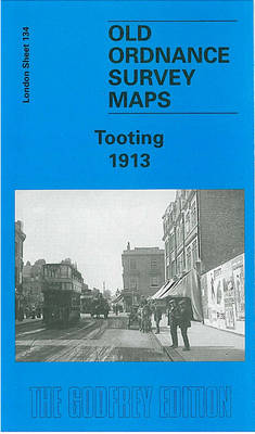 Tooting 1913: London Sheet 134.3 - Old O.S. Maps of London (Sheet map, folded)