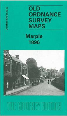Marple 1896: Cheshire Sheet 20.02 - Old O.S. Maps of Cheshire (Sheet map, folded)