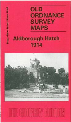 Aldborough Hatch 1914: Essex Sheet 78.08 - Old O.S. Maps of Essex (Sheet map, folded)
