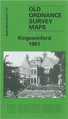 Kingswinford 1901: Staffordshire Sheet 71.01 - Old O.S. Maps of Staffordshire (Sheet map, folded)