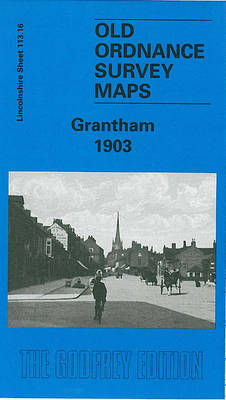 Grantham 1903: Lincolnshire Sheet 113.16 - Old Ordnance Survey Maps of Lincolnshire (Sheet map)