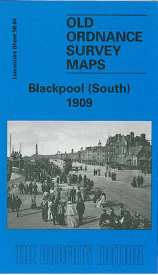 Blackpool (South) 1909: Lancashire Sheet 58.04 - Old O.S. Maps of Lancashire (Sheet map, folded)