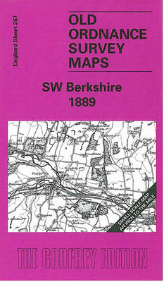 South West Berkshire 1889: One Inch Map 267 - Old Ordnance Survey Maps of England & Wales (Sheet map, folded)